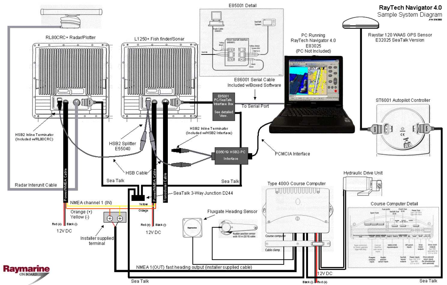 seatalk wiring diagram wiring library