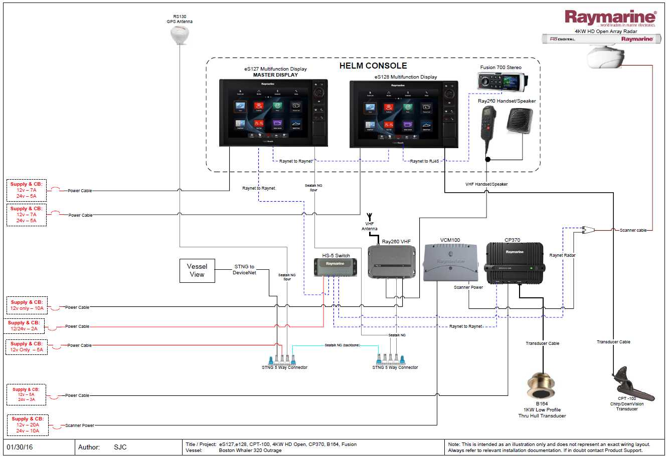 attachment Raymarine Network Wiring Diagrams on gps antenna, c120 cable for radar, fluxgate compass, patch cable, b256 transducer, seatalk hs,
