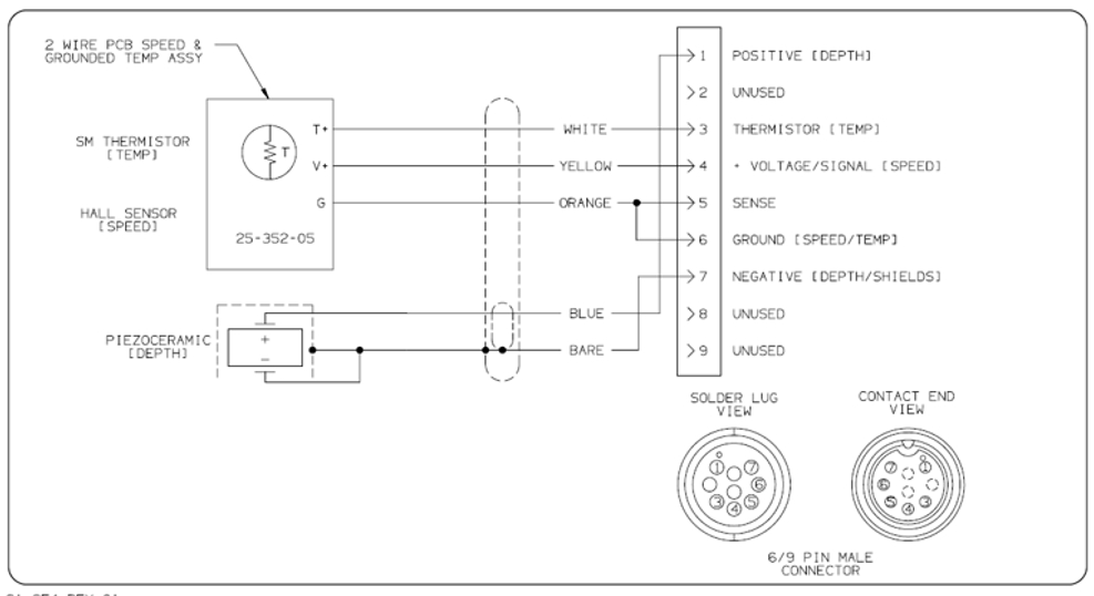 wiring diagram pin out for transducer for ax7 cx7 e7d ex7 esx7 mfds printable version