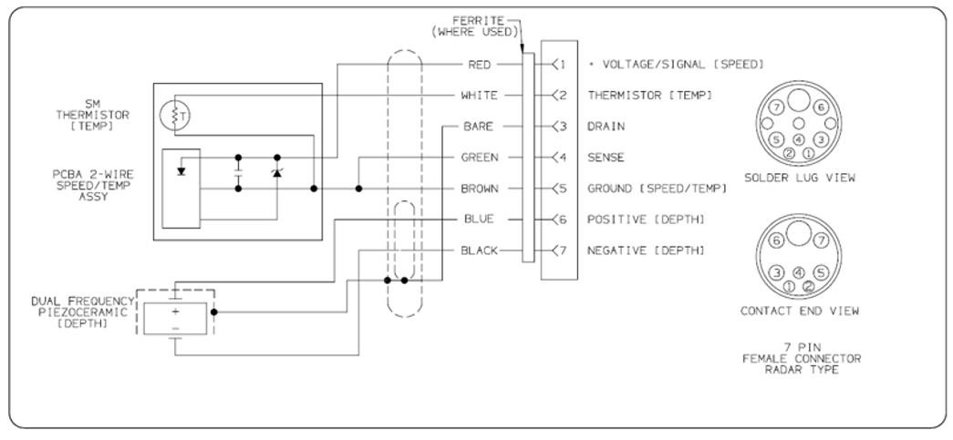 wiring diagram pin out for transducer for cp370 sounder module image attachment php aid 617